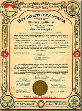 Troop 21 - History | Boy Scouts of America